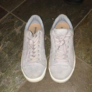 H&M Suede Blue Shoes
